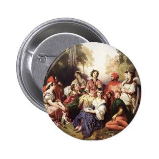 Franz Xaver Winterhalter- The Decameron Buttons
