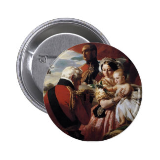 Franz Xaver Winterhalter- The First of May Pinback Button