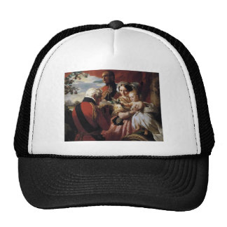 Franz Xaver Winterhalter- The First of May Mesh Hats