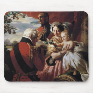 Franz Xaver Winterhalter- The First of May Mouse Pad
