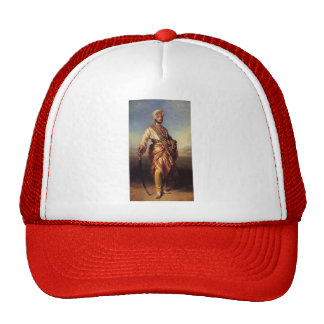 Franz Xaver Winterhalter- The Maharaja Dalip Singh Mesh Hat