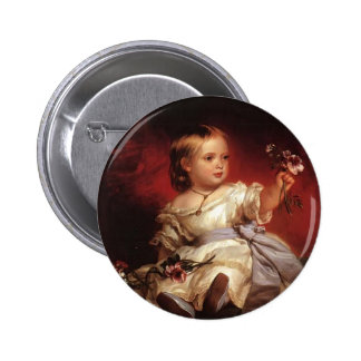 Franz Xaver Winterhalter- Victoria, Princess Royal Pinback Button