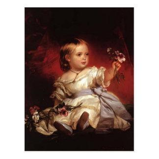 Franz Xaver Winterhalter- Victoria, Princess Royal Postcard