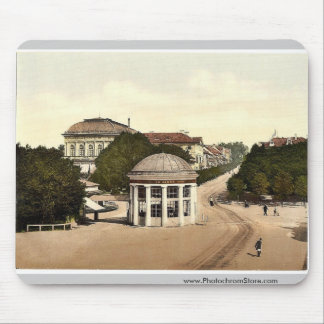 Franzenbad, springhouse y casino, Carlsbad, Bohe Tapete De Ratón
