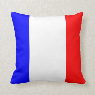 Französischer Flagge del mit de Kissen Almohada