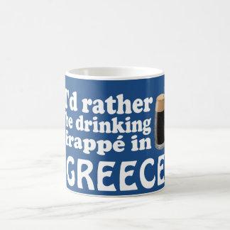 Frappé en Grecia Taza Clásica