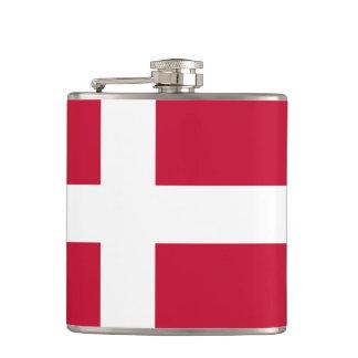 Frasco danés de la bandera