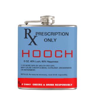 Frasco de Hooch de la prescripción de RX