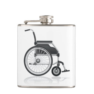 Frasco de la silla de ruedas