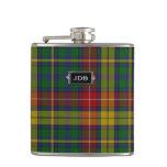 Frasco de la tela escocesa de tartán de Buchanan d