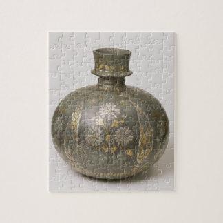 Frasco de Mughal (trabajo de metalistería) Rompecabezas