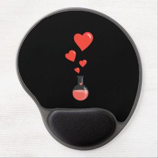 Frasco del el día de San Valentín del friki de la Alfombrilla De Ratón Con Gel