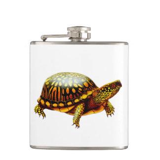 Frasco del este amistoso de la tortuga de caja petaca