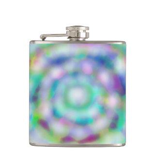 frasco del hielo del arco iris petaca