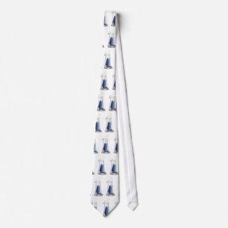 Frasco del laboratorio corbatas