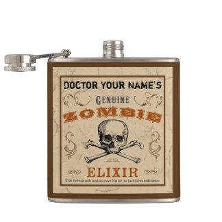 Frasco del personalizable del elixir del zombi