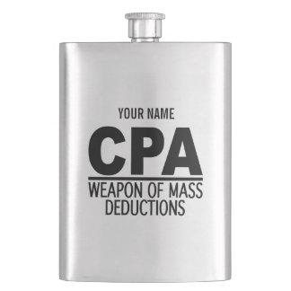 Frasco del personalizado de CPA Petaca
