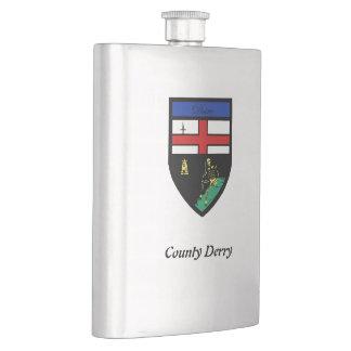 Frasco del premio de Derry del condado Cantimplora