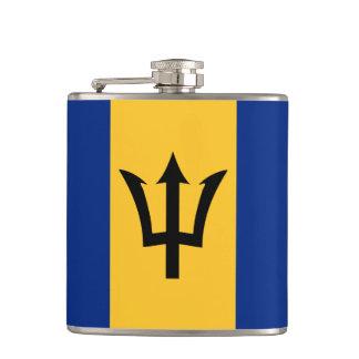 Frasco envuelto modelo de la bandera de Barbados