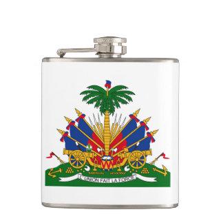 Frasco haitiano del escudo de armas