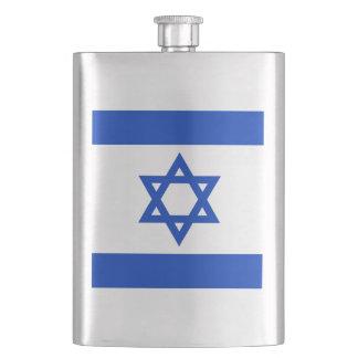 Frasco israelí de la bandera petaca