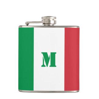 Frasco italiano de la bandera