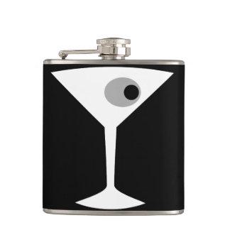 Frasco Noir del vidrio de Martini de la película