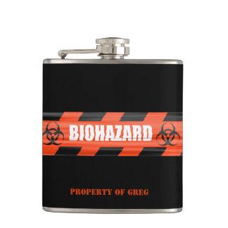 Frasco personalizado del Biohazard Petaca