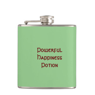 Frasco potente de la poción de la felicidad petaca