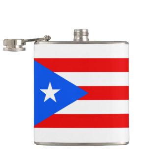 Frasco puertorriqueño de la bandera
