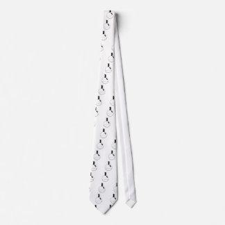 frasco redondo determinado de la química corbatas personalizadas