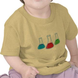 Frascos de la ciencia camisetas