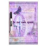 Frase francesa del quoi de los sais del ne de Je - Pizarra Blanca