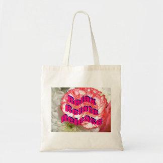 Frase inspirada bolsa tela barata