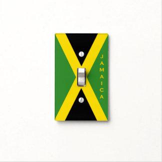 Fraseología opcional de Jamaica de la bandera Tapa Para Interruptor