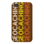 Fraseología simple de Geocaching iPhone 4/4S Carcasa
