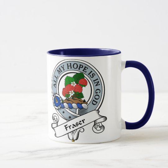 Fraser Clan Badge Mug