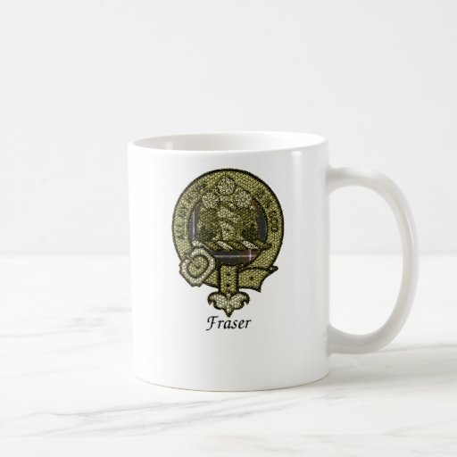 Fraser Clan Crest Classic White Coffee Mug