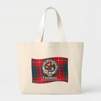 Fraser Clan Large Tote Bag