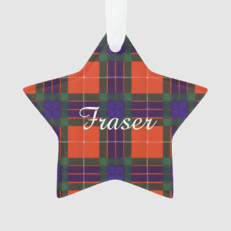 Fraser clan Plaid Scottish tartan