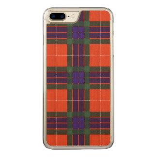 Fraser clan Plaid Scottish tartan Carved iPhone 7 Plus Case