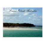 fraser coastline postcard