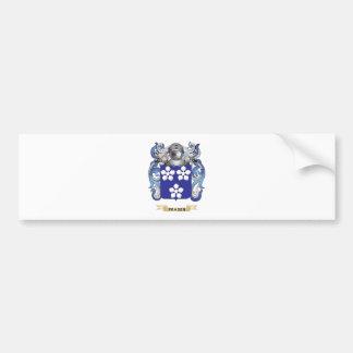 Fraser Coat of Arms Car Bumper Sticker