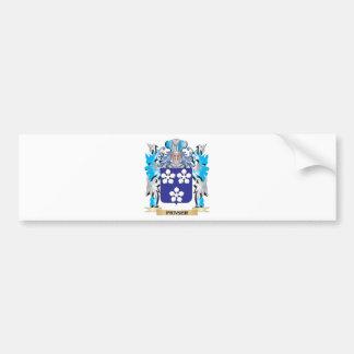 Fraser Coat of Arms - Family Crest Car Bumper Sticker
