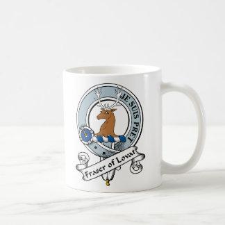 Fraser de la insignia del clan de Lovat Tazas De Café