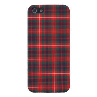 Fraser del caso moderno del iPhone 5/5S del tartán iPhone 5 Protector