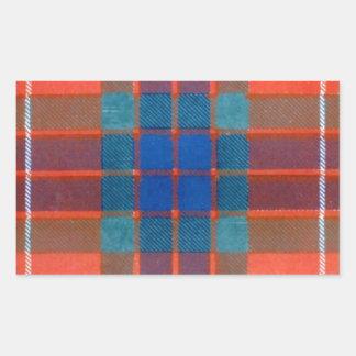 Fraser Family - TARTAN Rectangular Sticker