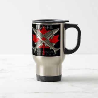 Fraser-Flag-double gray Travel Mug