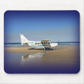Fraser Island Airways Mousepad mousepad