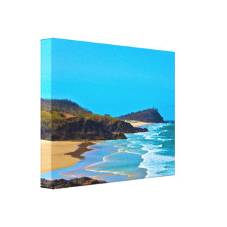 Fraser Island -champagne pools Canvas Print